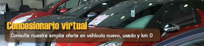 Concesionario Virtual. Consulta nuestra en vehículo nuevo, usado y km 0